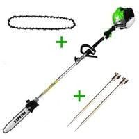 Podadora Altura Kapotha ultimate gasolina 52cc 2cv 25cm espada más 2 barras y 1 cadena extra