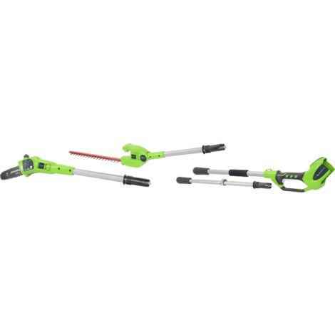 Podadora de altura combi (cortasetos) inalámbrica Greenworks 40 V G40PSH (sin batería ni cargador)
