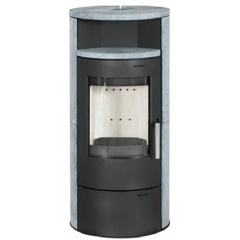 POELE A BOIS ELSA 7KW - Différents coloris / Avec ou sans chauffe plat / Avec ou sans option combustion continue