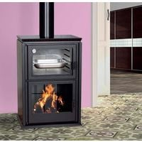 Poêle à bois en acier au carbone 9 Kw