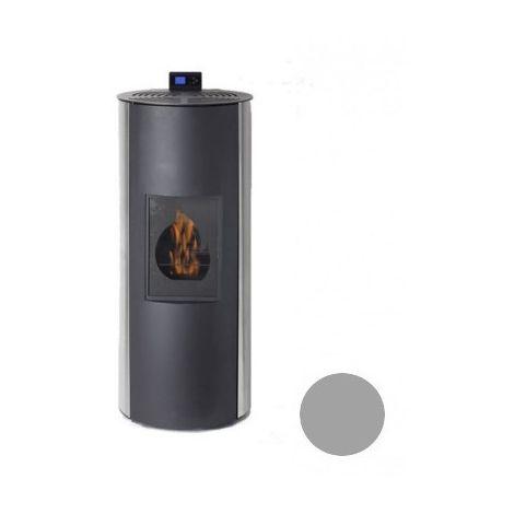 Poêle à fioul Bioéthanole - Fioul - Flamin - 8/10KW - Acier - Inox