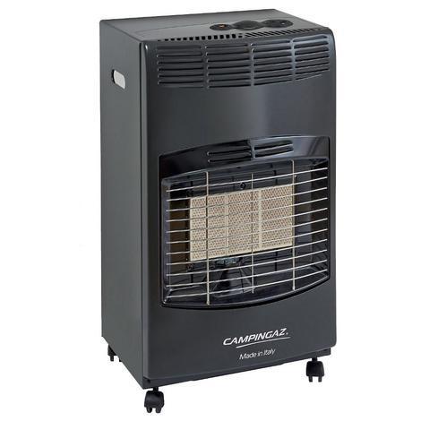 Poêle à gaz GPL infrarouge 4200 W chauffage allumage piézoélectrique IR5000