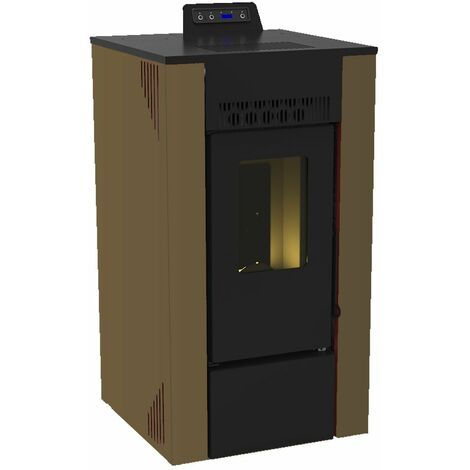 Poêle à granulés étanche Sona 11 kW Sannover plusieurs coloris disponibles