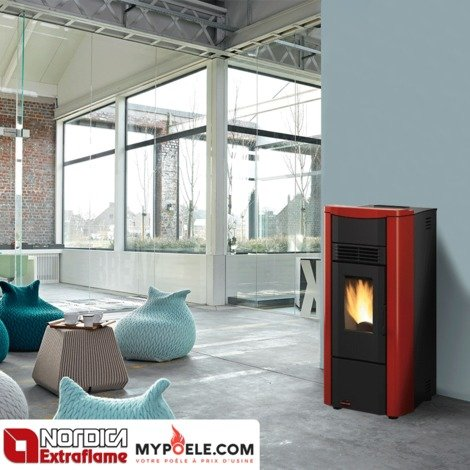 po le granul s extraflame giusy plus canalis 8 0kw. Black Bedroom Furniture Sets. Home Design Ideas