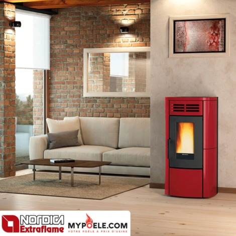 po le granul s extraflame terry plus canalis 12 1kw. Black Bedroom Furniture Sets. Home Design Ideas
