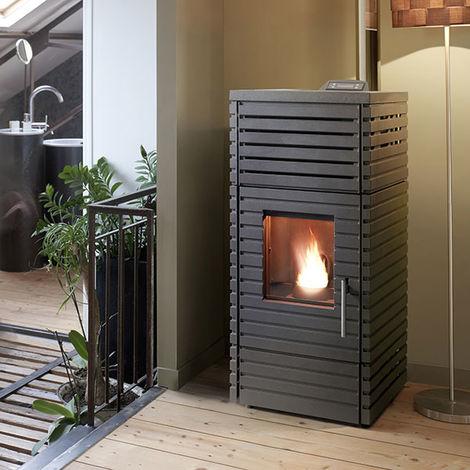 poele a granul s pyra anthracite 6184 44. Black Bedroom Furniture Sets. Home Design Ideas