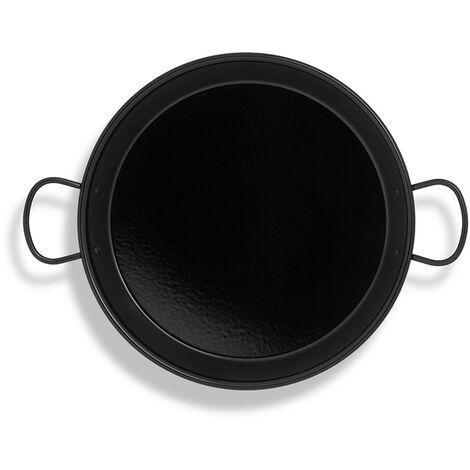 Poêle à paella émaillée pour plaque induction et vitrocéramique ø38cm (8 personnes) EDM 76637