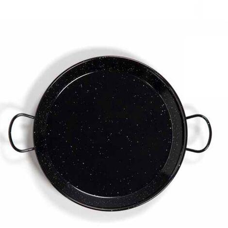 Poêle à paella en acier émaillé Ø300mm 4 portions GSC 002701798
