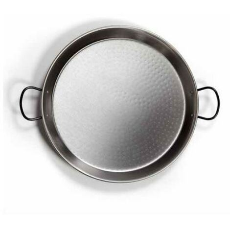 Poêle à paella en acier poli ø420mm 10 portions GSC 2701794