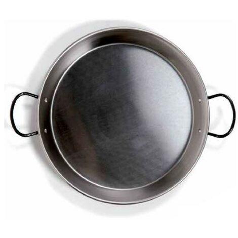 Poêle à paella en acier pour plaque vitrocéramique et induction ø340mm GSC 2702518