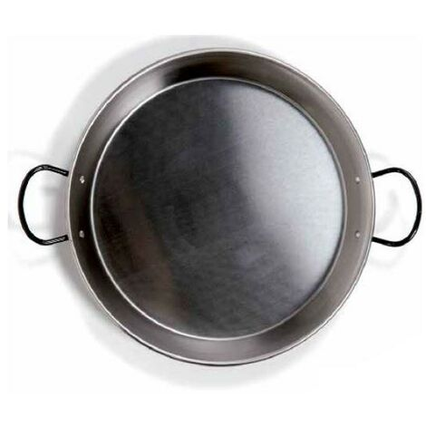 Poêle à paella en acier pour plaque vitrocéramique et induction ø360mm GSC 2702519