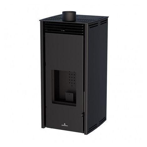 Poêle à pellet - SANS ELECTRICITE - FREE 11 kW couleur noire - Noir