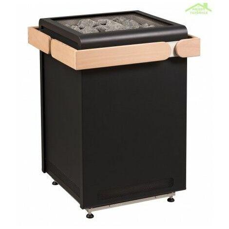 Poêle à sauna design CONCEPT R de SENTIOTEC 9, 10,5, 12 ou 15 kW