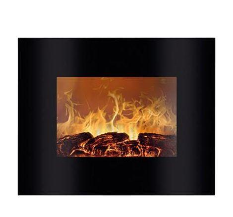 Poêle-cheminée électrique Bomann 660201 noir, flamme 1 pc(s)