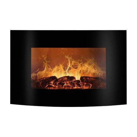 Poêle-cheminée électrique Bomann EK 6022 CB 660221 noir, flamme 1 pc(s)