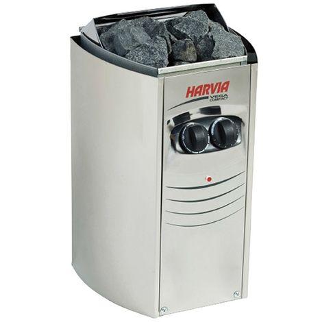 Poêle électrique Harvia Vega Compact 3.5 kW pour sauna traditionnel vapeur