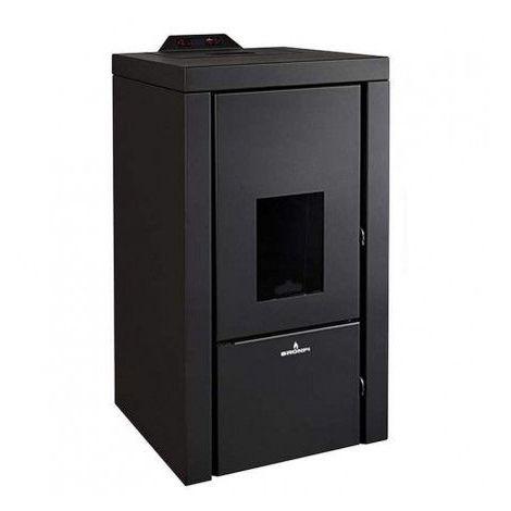Poêle HYDRO QUESNEL - pellets - 21 kW noir - Noir