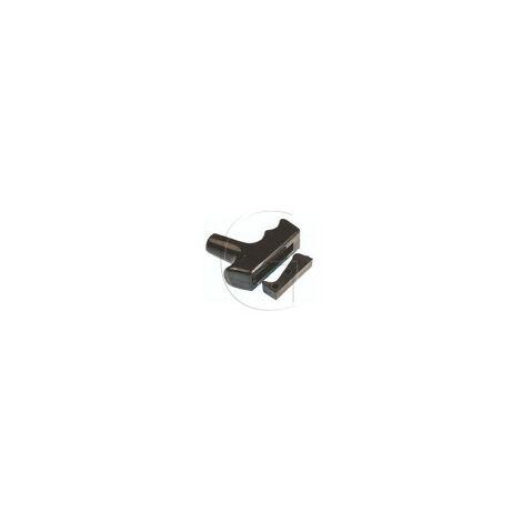 Poignée de lanceur tronconneuse universelle diametre de corde 6.65 mm
