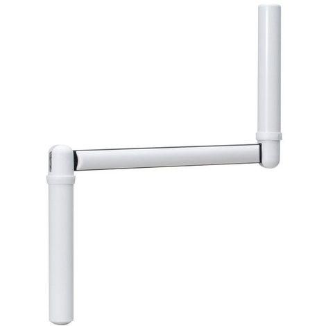 Poignée de manivelle de volet roulant - Décor : Blanc - ITAR