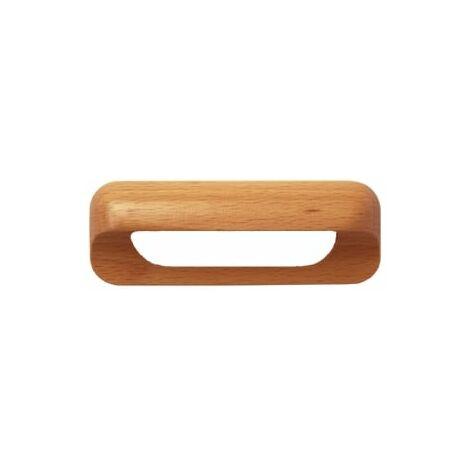 Meubles Poignée Bois Coquillage Poignée 96 mm Poignées De Tiroir Pin