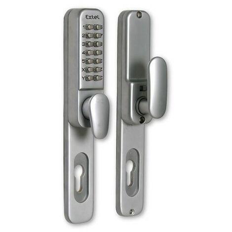 Poignée de porte codée - Porte 35 à 60mm