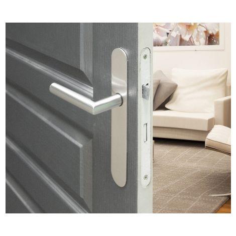 Poignée de porte sur plaque - Alba