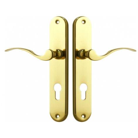 Poignée de porte sur plaque - Ischia