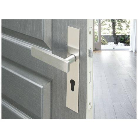 Poignée de porte sur plaque - Malibu