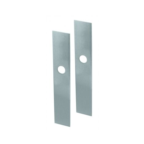 Poignée de porte sur plaque - Plano