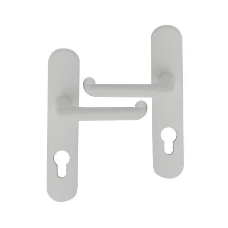 House porte pack 7 Jeux Chrome Poli Poignée Porte Serrure Tubulaire Loquet