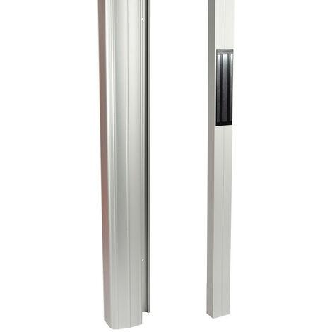 Poignées équipées de ventouses bandeau en applique 2 ventouses (005520)