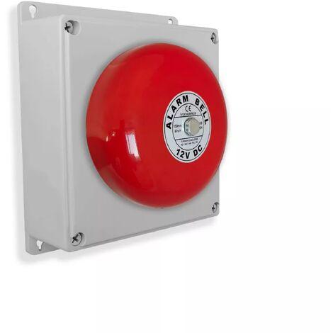 Point d'alerte supplémentaire étanche pro longue distance cloche industrielle / scolaire puissante (gamme FX)