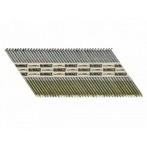 Pointes crantées galvanisées DEWALT 2,8 x 50 mm - Boite de 2200 - DNPT28R50G12Z