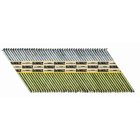 Pointes crantées standard DEWALT 2,8 x 50 mm - Boite de 2200 - DNPT28R50Z