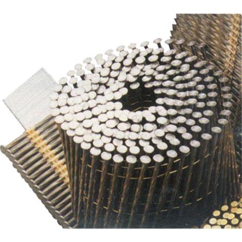Pointes rouleau 2.5 x 55 - Annelée - Boite de 9900