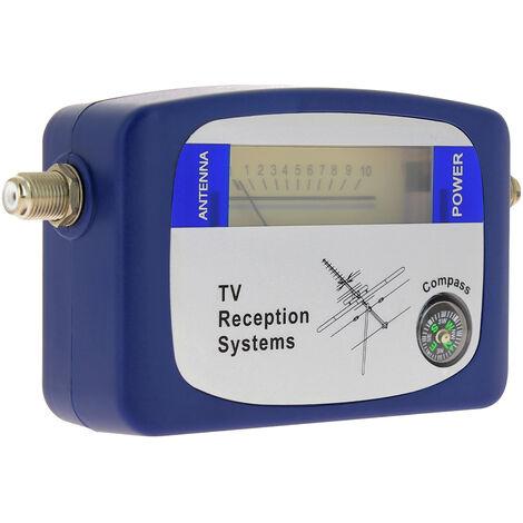 Pointeur Mesureur testeur de signal TV terrestre pour réglage antenne TV - SEDEA - 519910
