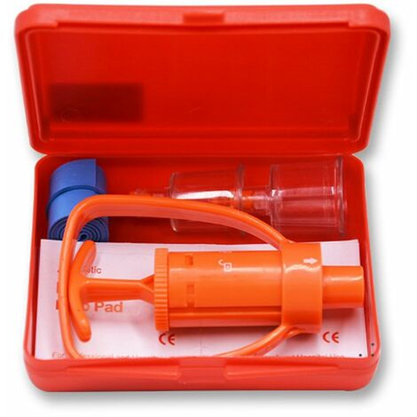 Poison Extracteur Remover Outil De Survie Pompe A Vide Kit Exterieur Premier Outil D'Aide