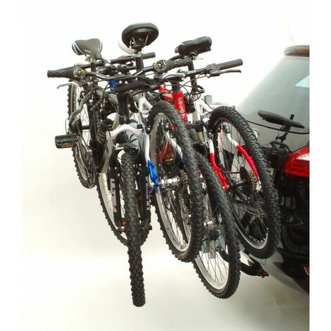 POLAIRE - Porte-vélo Peruzzo Arezzo pour 4 vélos fixation sur boule d'attelage - PVS4 AREA