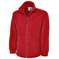 Polaire, RS PRO, Unisexe, taille S, Rouge, Polyester