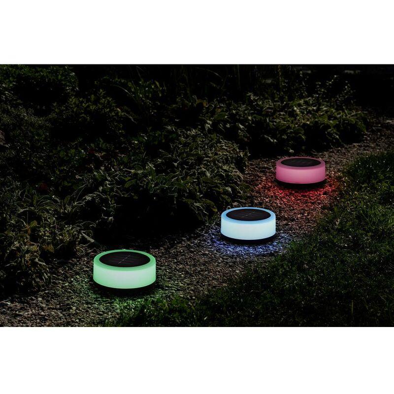 Polarlite Lampada solare decorativa EASY 100 PL-8375080 LED (monocolore) 0.16 W Bianco caldo, RGB