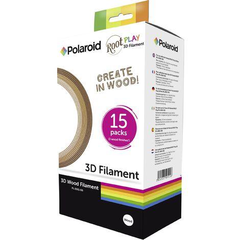 """main image of """"Polaroid 3D-FP-PL-2501-00 Pack de filaments Composé Laybrick 1.75 mm 225 g bois 1 pc(s) X862521"""""""