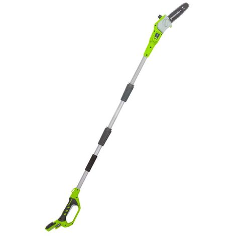 Pole pruner GREENWORKS 24V - 20 cm - Without battery or charger - G24PS20