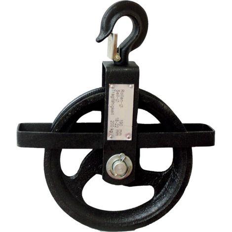Polea 190 mm, 200 kg para Seile von 18 - 22 mm