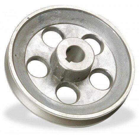"""main image of """"Polea de aluminio para cabezal compresor A 120x24"""""""