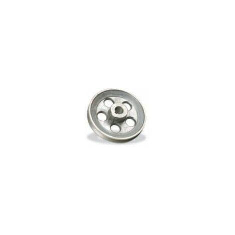 """main image of """"Polea de aluminio para cabezal compresor A 140x24"""""""