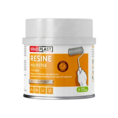 poliéster de tipo resina eco Soloplast 500g
