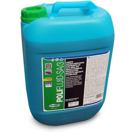 POLIFLUID-SA/3 - Additif super fluidifiant à haut rendement pour chapes et mélanges cimentaires