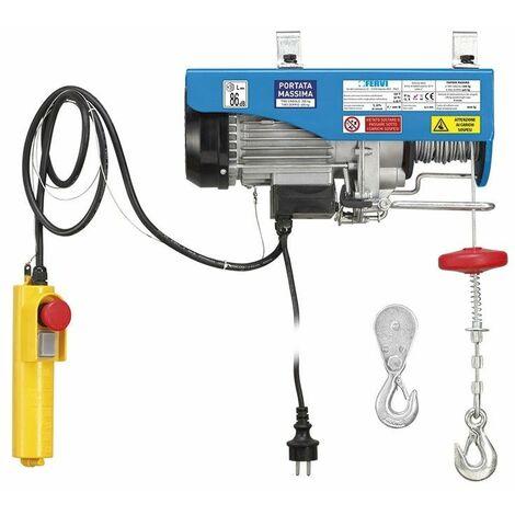 Polipasto eléctrico. Capacidad 200/400kg FERVI 0602
