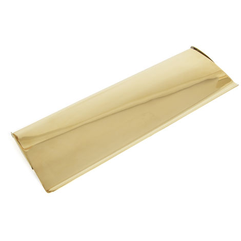 Polished Brass Large Letterplate Cover