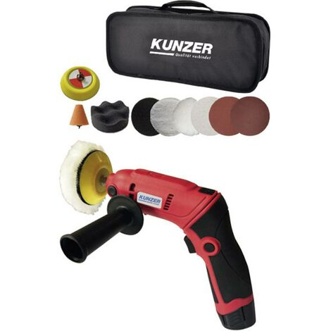 Polisseuse sans fil Kunzer 7MPM06 12 V 2800 tr/min (max) 75 mm 1 pc(s)